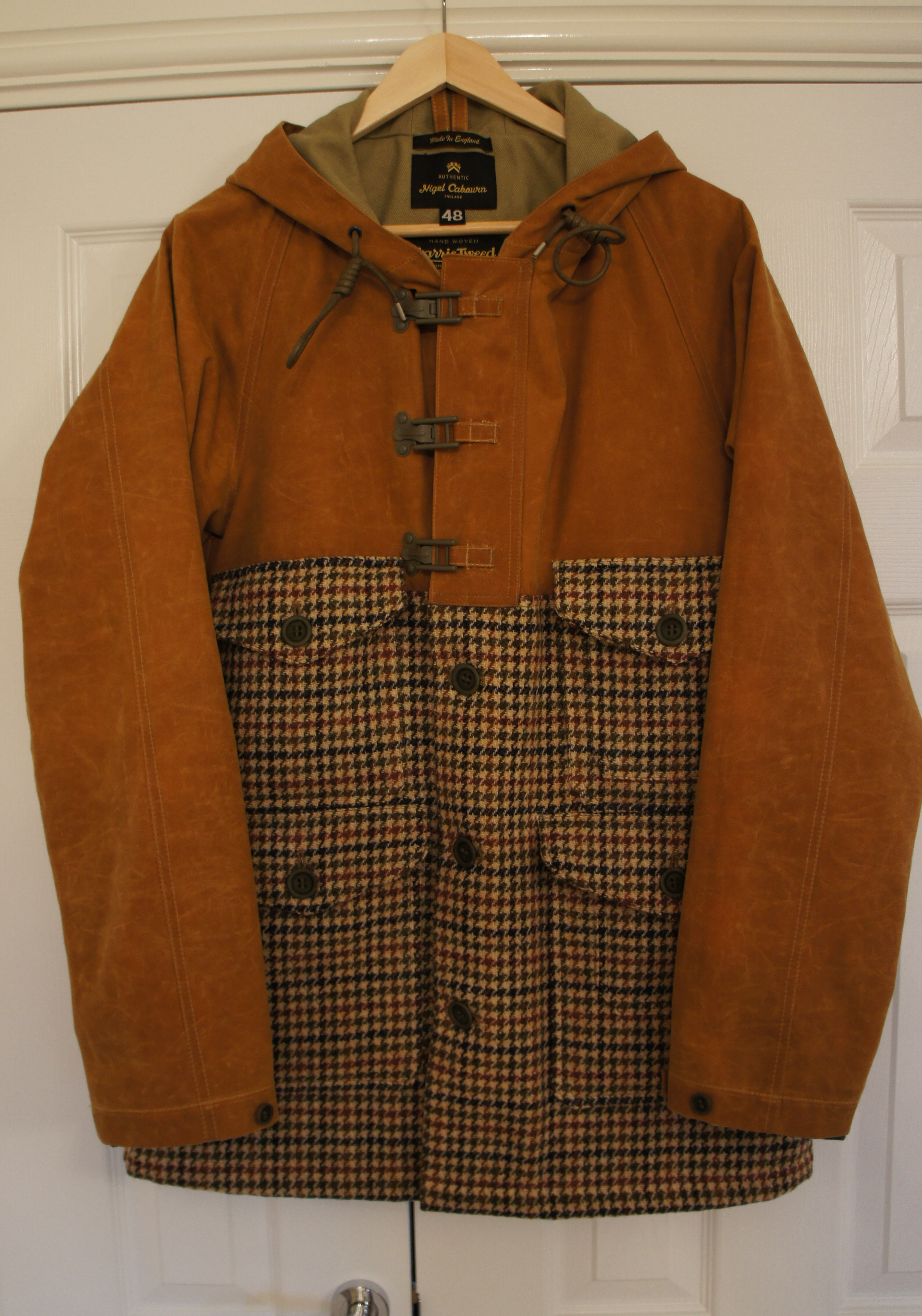 619e70349859c0 Last Buy – Nigel Cabourn Lined Cameraman Jacket – American Icons