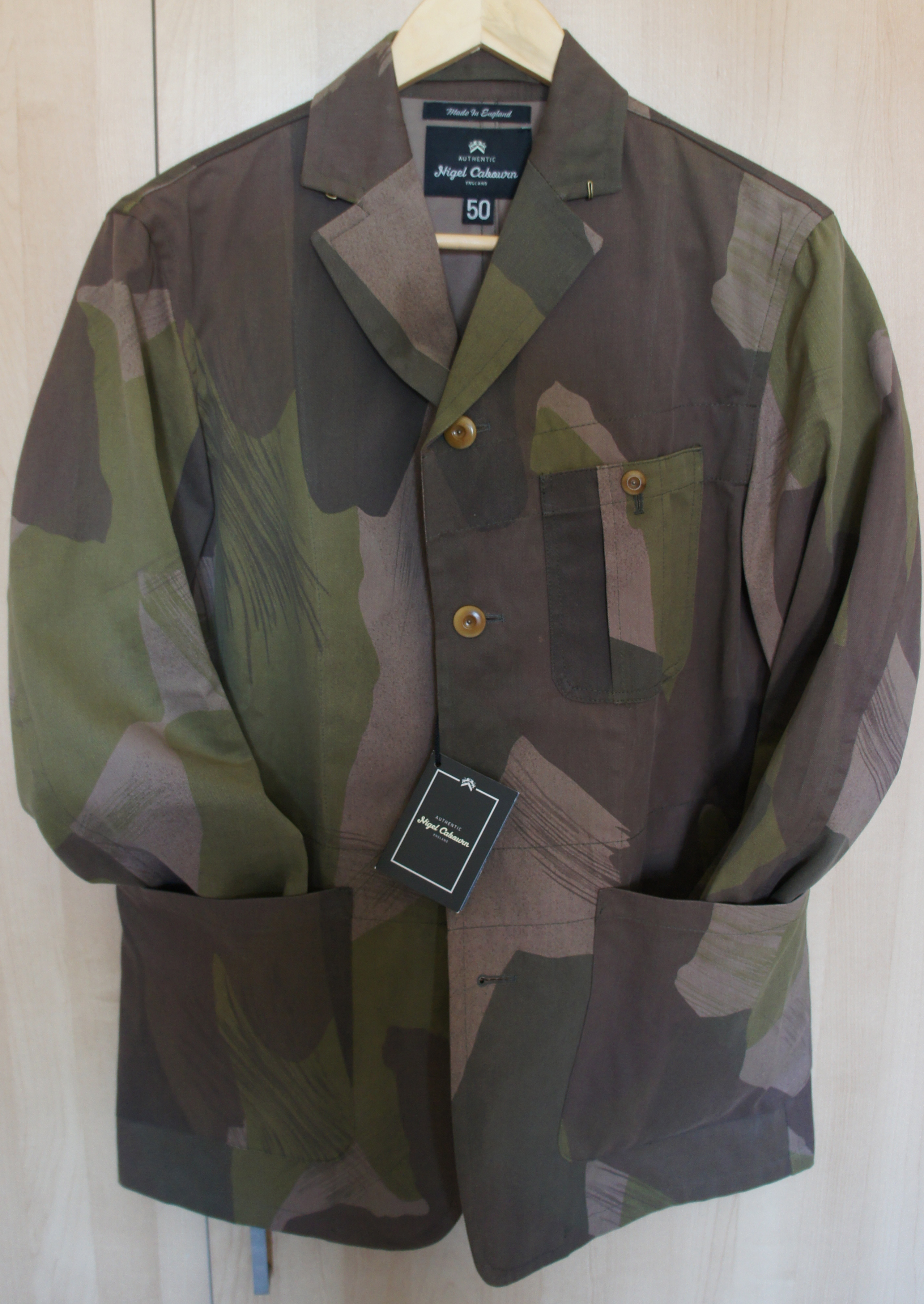 Last Buy Nigel Cabourn Camo Tenzing American Icons